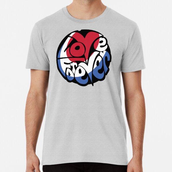 LOVE FOREVER 'HIPPIE' LOGO (Roundel) Premium T-Shirt
