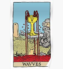 """Wavves- V """"Cup"""" Poster"""