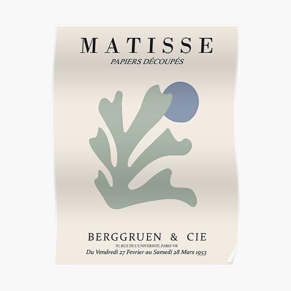 Henri Matisse - Algae Cutout - Papiers Découpés - New Poster