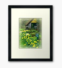 The Old Bakery at Branscombe Framed Print