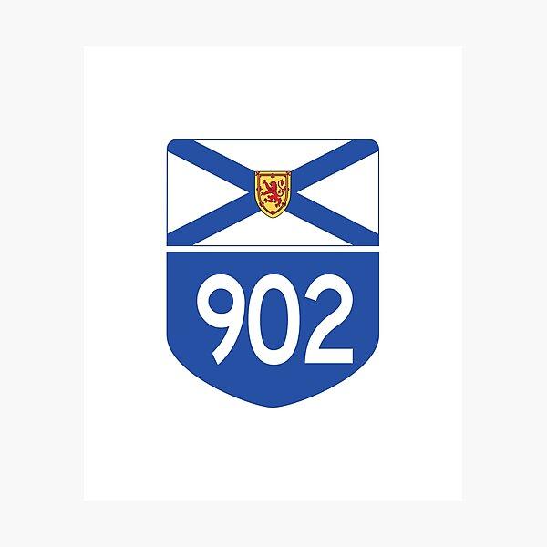 Nova Scotia Provincial Highway 902 (Area Code 902) Photographic Print
