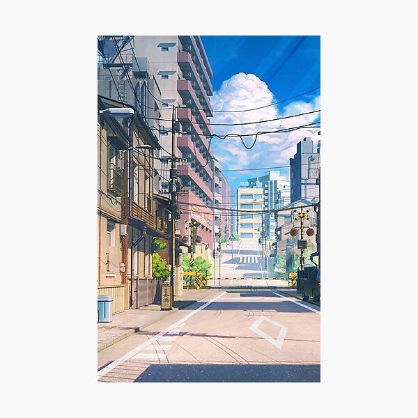 Anime Aesthetic Photographic Print