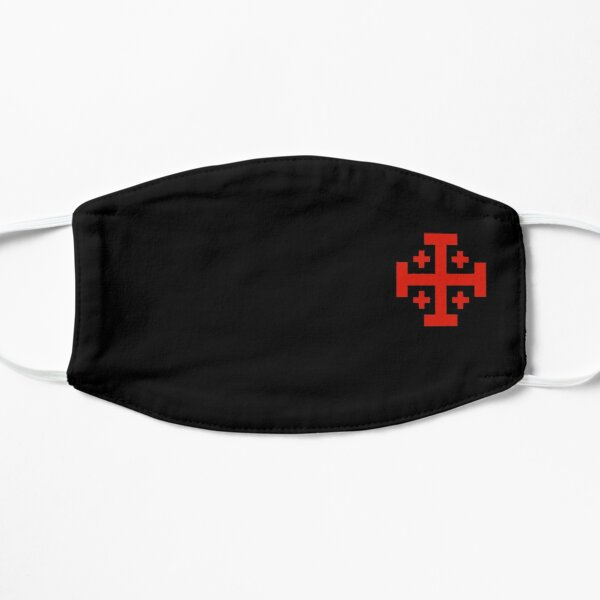 Ordre du Saint-Sépulcre Masque sans plis