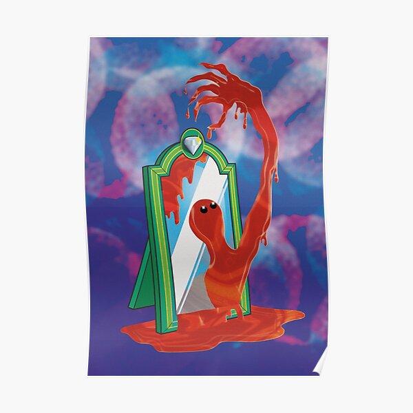 Dämon aus dem Spiegel Poster