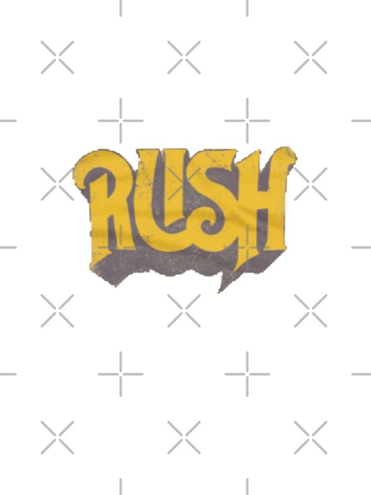 Rush Original Yellow Logo by tracynguyen23