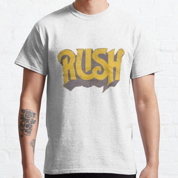 Logo jaune original de Rush T-shirt classique