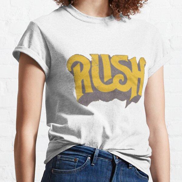 Rush Original Yellow Logo Classic T-Shirt