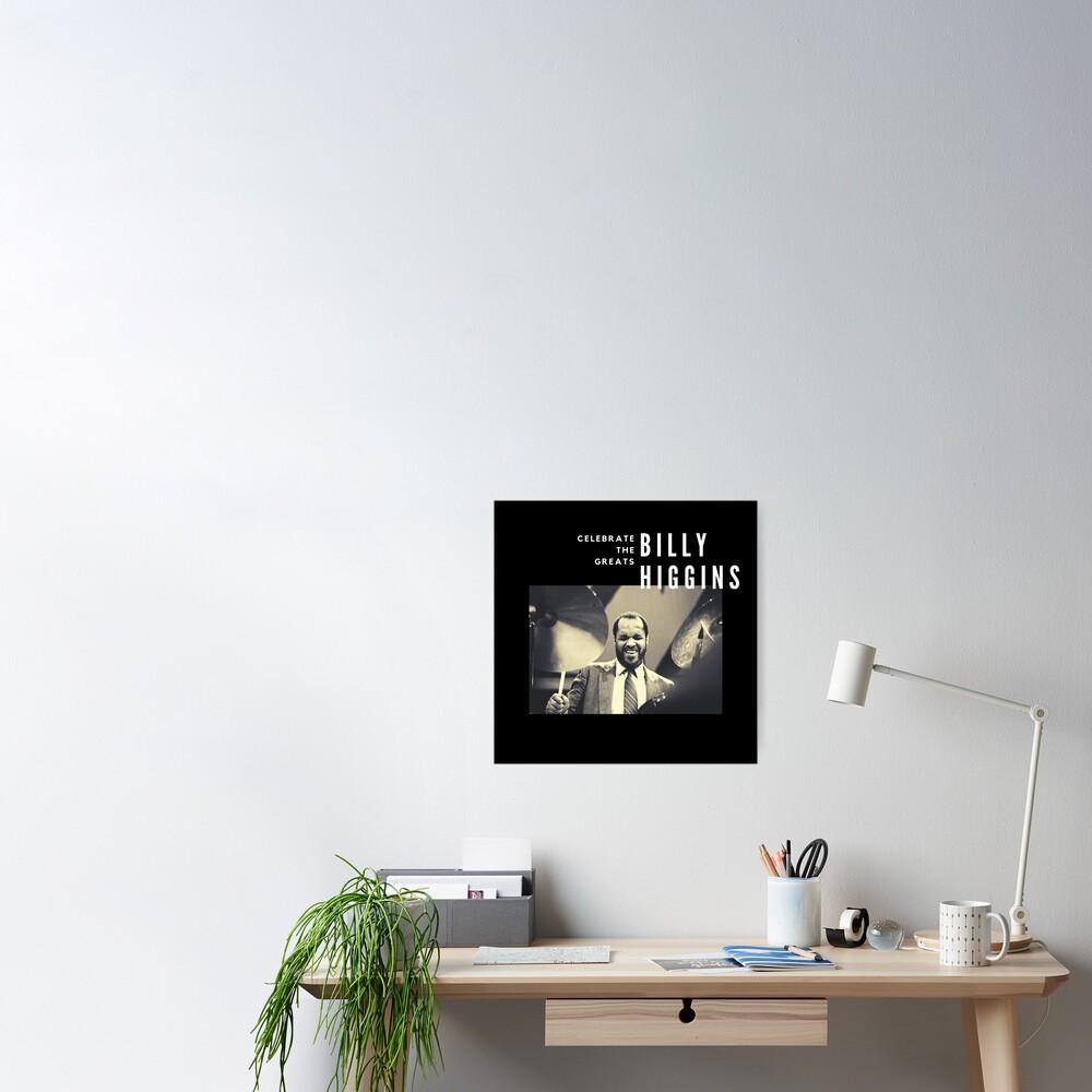 Billy Higgins: Great Jazz Drummer/Musician Poster