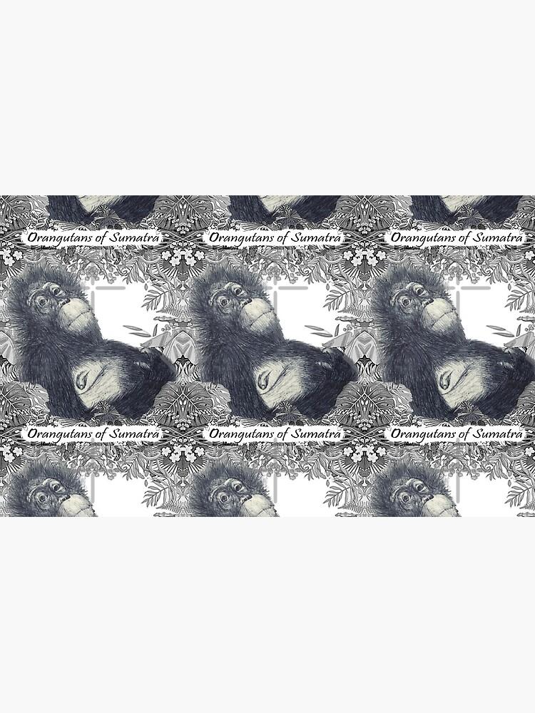 Orangutans of Sumatra by RipeBananaShop
