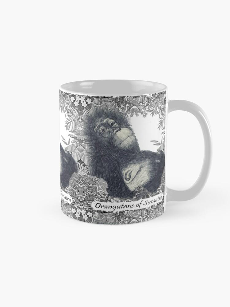 Alternate view of Orangutans of Sumatra Mug