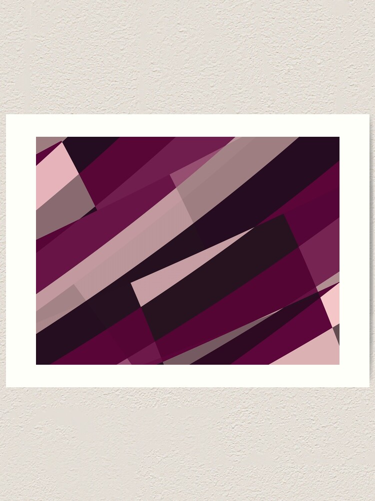 Alternate view of Pink Purple Leopard Design Pattern Art Print