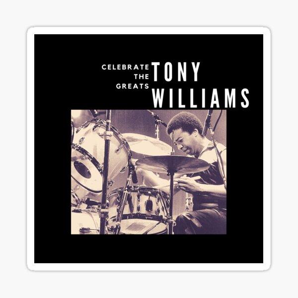 Tony Williams: Great Jazz Drummer/ Musician Sticker