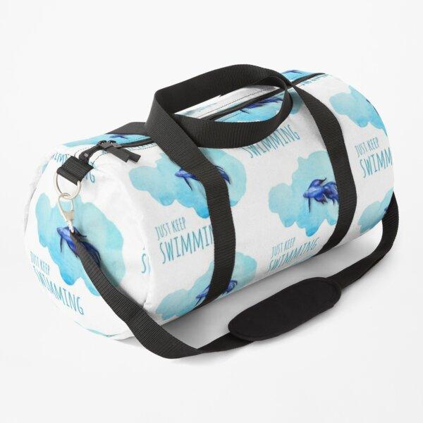 Just Keep Swimming Duffle Bag