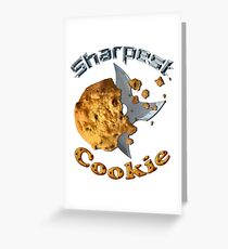 Sharpest Cookie (in the Jar) Greeting Card