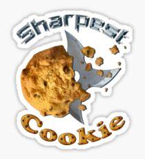 Sharpest Cookie (in the Jar) Sticker