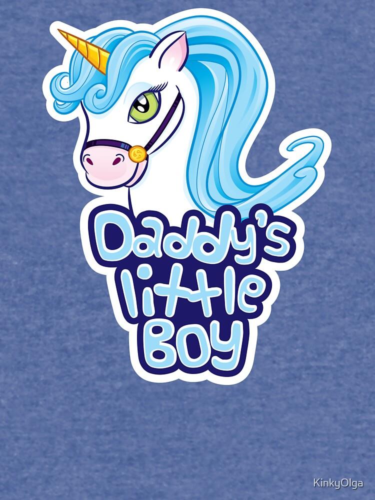 Daddy's Little Boy - Cute Unicorn by KinkyOlga