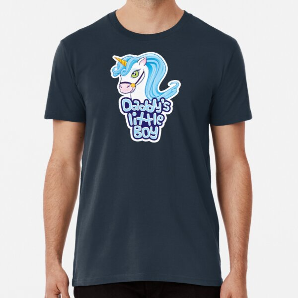 Daddy's Little Boy - Cute Unicorn Premium T-Shirt