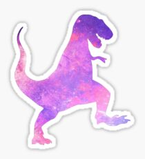 T-Rex Dinosaur Galaxy Sticker