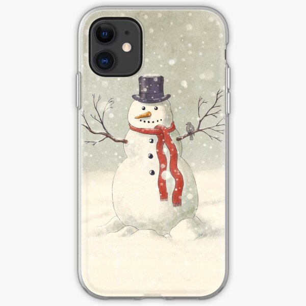 The Snowman iPhone Soft Case
