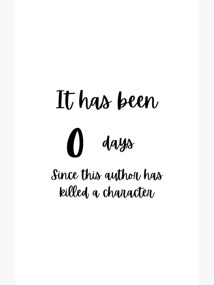 0 days by authorlwinter