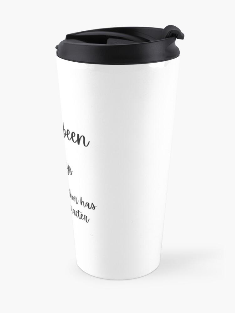 Alternate view of 0 days Travel Mug