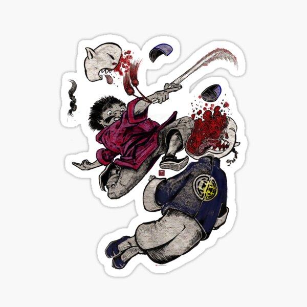Zong Q strikes! Sticker
