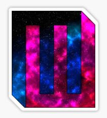 Galaxy MW Logo Sticker