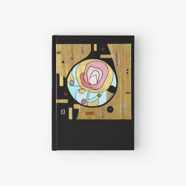 Rose Deco Hardcover Journal