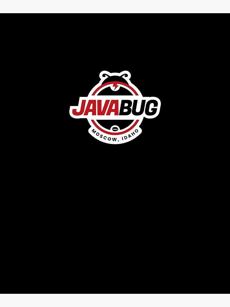Java Bug Coffee Moscow Idaho by DOODL