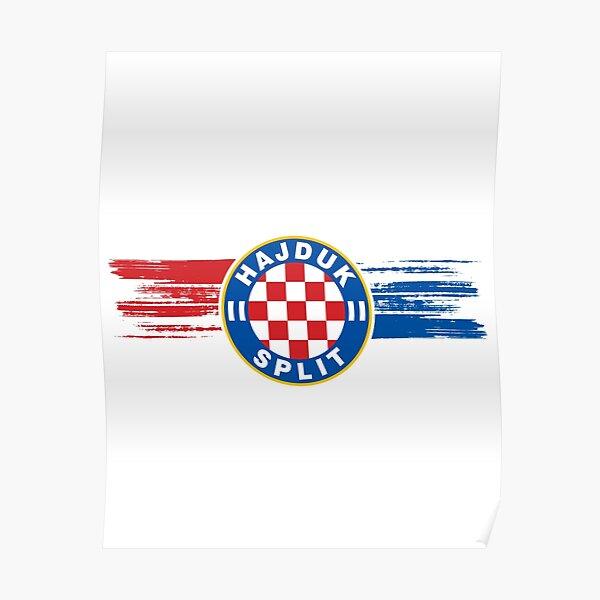 One life one colours, Croatia, Hajduk Split Poster