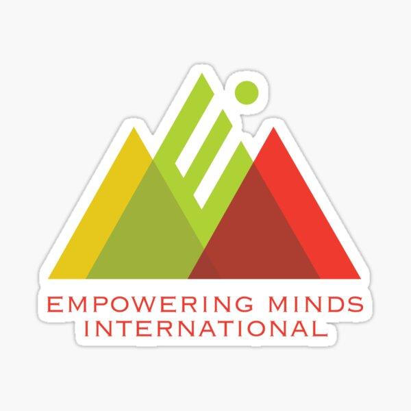 """Empowering Minds International """"EMI"""" Logo Sticker"""