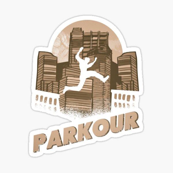 Parkour Sticker
