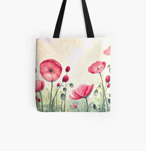Blossom All Over Print Tote Bag