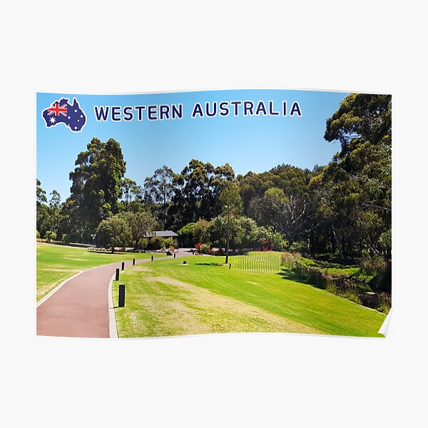 Western Australia winery background Poster