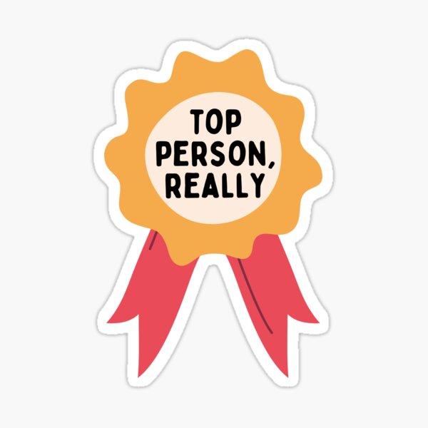 Mark Darcy- Top person really Sticker