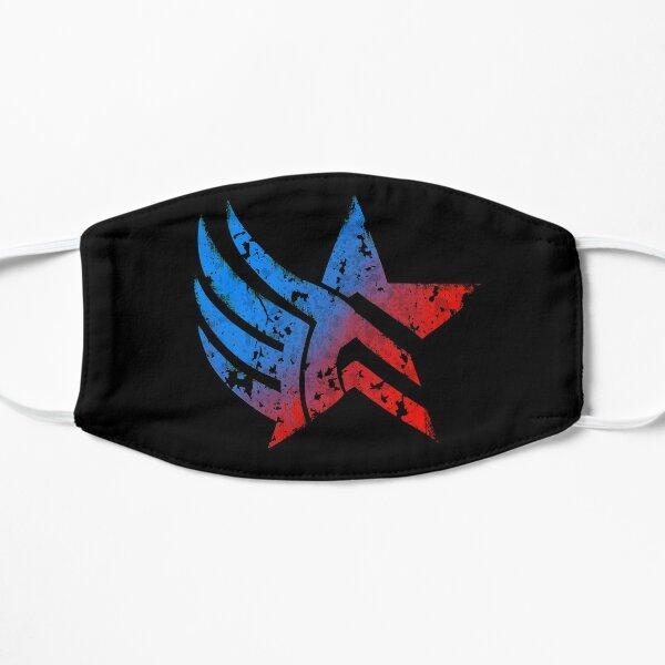 Mass Effect Paragon Renegade Distressed Flat Mask