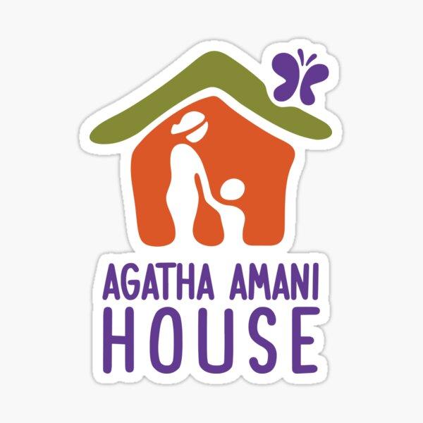 """Agatha Amani House """"AAH"""" Logo Sticker"""
