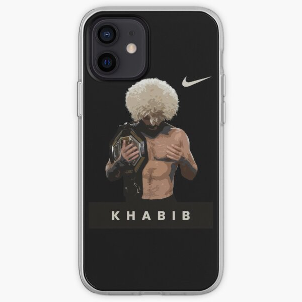 Khabib Nurmagomedov - The Eagle - UFC 254 - Dagestan, Russia - Alhamdulillah iPhone Soft Case