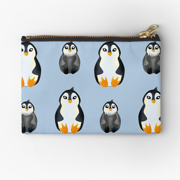 Cute Penguins Zipper Pouch