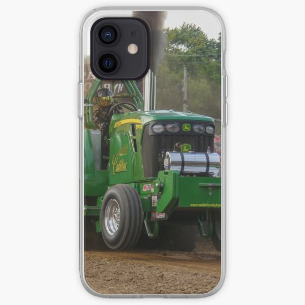 Maizal cadillac john deere tirando del tractor Funda blanda para iPhone
