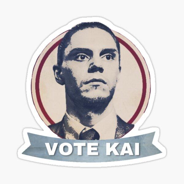 Abstimmung Kai Anderson Aufkleber AHS CULT Sticker