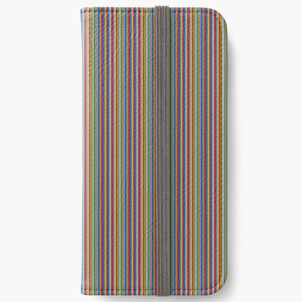 color lines iPhone Wallet