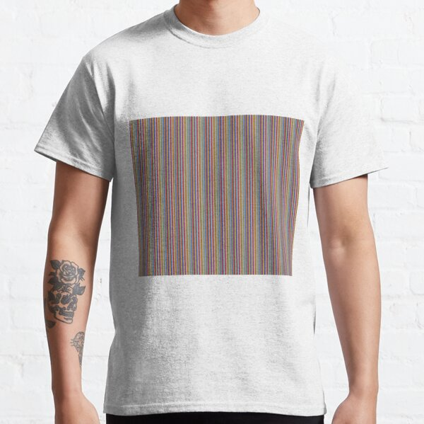color lines Classic T-Shirt