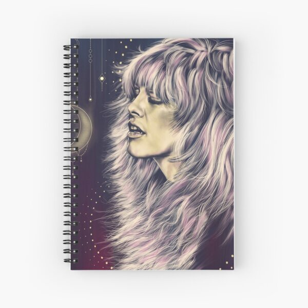 Witchy Stevie Spiral Notebook