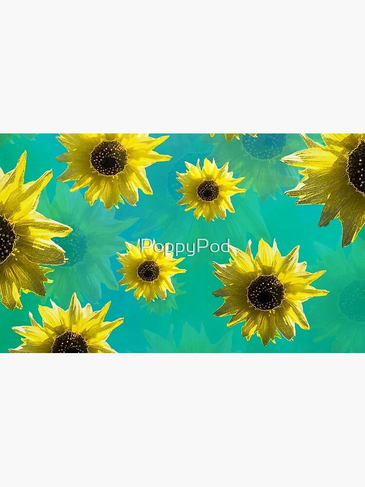 Sunflower - Sunshine On My Shoulder by PoppyPod