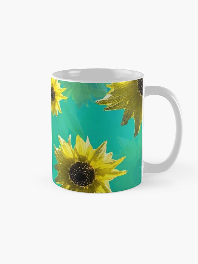 Alternate view of Sunflower - Sunshine On My Shoulder Mug