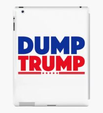 DUMP TRUMP 3 iPad Case/Skin