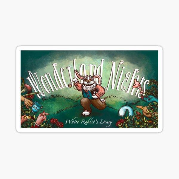 Wonderland Nights: White Rabbit's Diary Promo Image Sticker