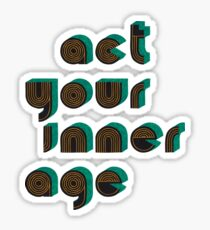 Growing Up Sticker