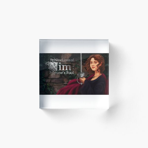 The Nine Lives of Nim: Fortune's Fool Promo Image Acrylic Block